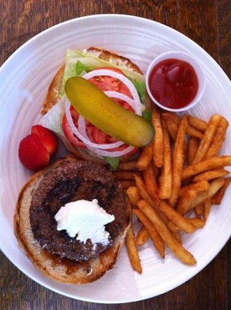 Laughing Goat : BUffalo Burger