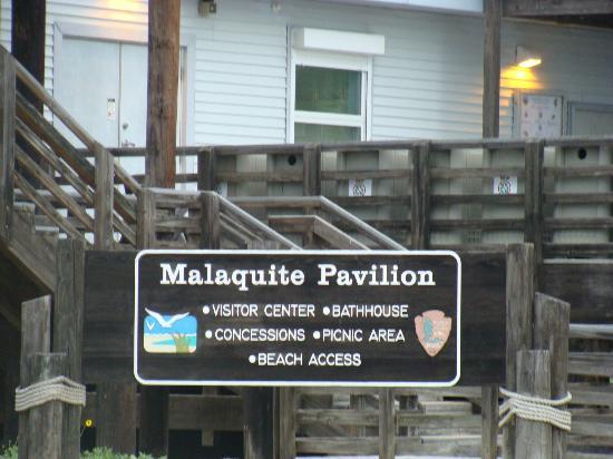 Malaquite Beach: Pavilion