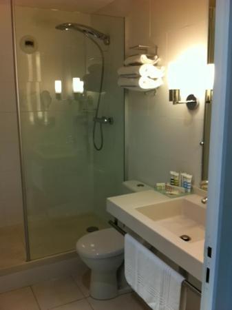 Mercure Lyon Lumiere : la salle de bain