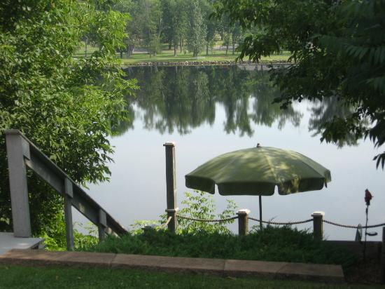 Carnegie Hall Bed & Breakfast: View of the River