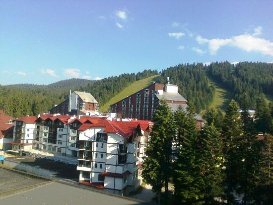 Samokov Hotel: View from the balcony of the room