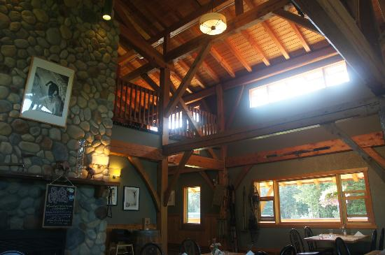 Heather Mountain Lodge: The restaurant