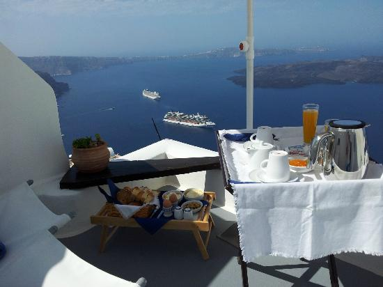 Arc Houses: Private balcony with breakfast - unbeatable!