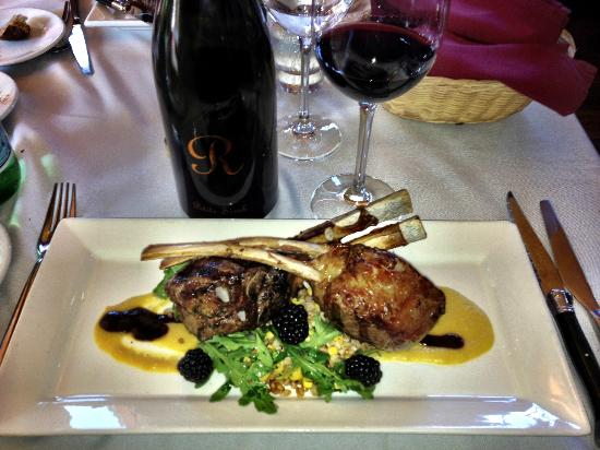Taste: Rack of Lamb