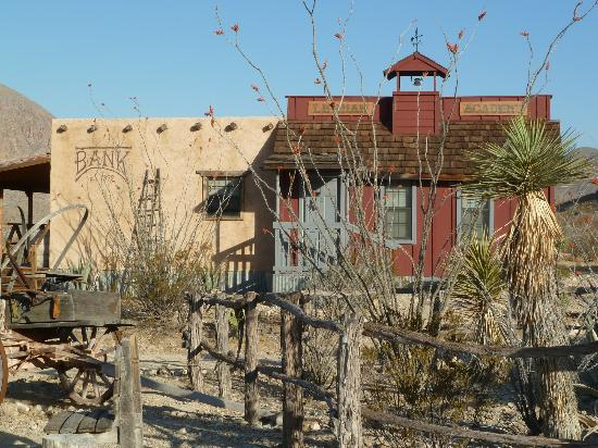 Ten Bits Ranch: View of the Lehman Academy & the Bank