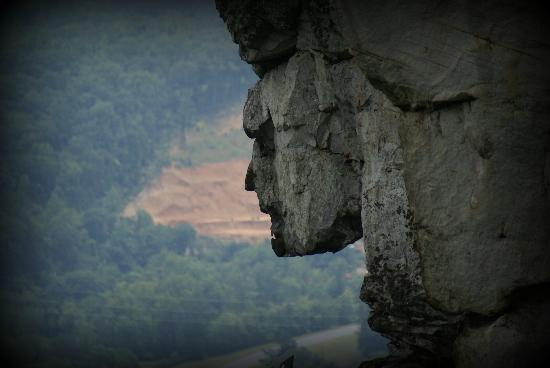 Lookout Mountain, จอร์เจีย: The face