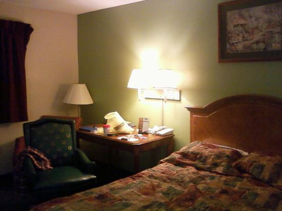 Travelodge Battle Creek: Our 1 Queen Bed Room