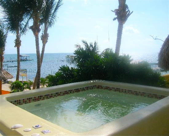 Seaside Cabanas: Plunge Pool!