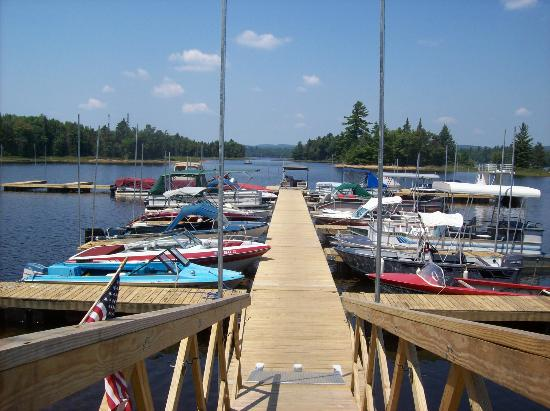 View of the Dock at Beaver River