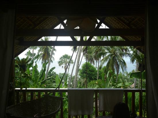 Coco Beach Resort: View from Banana Cottage 1