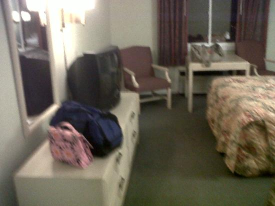 America's Best Value Inn Sandusky: Tidy and spacious room