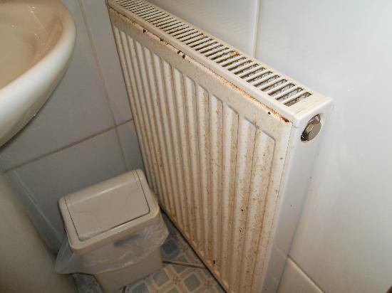 Foxwood Guest House: Foxwood bathroom radiator