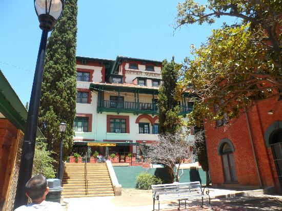 Bisbee Trolley Tours: Copper Queen Hotel