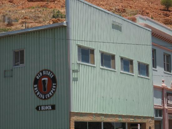 Bisbee Trolley Tours: Old Bisbee Brewery