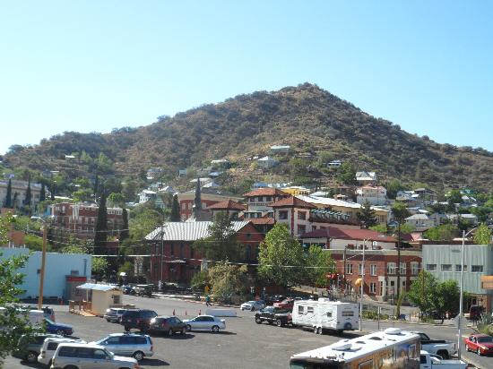 Bisbee Trolley Tours: View from the hill