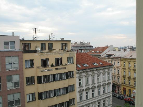Hotel Lunik : View from 5th floor hotel room