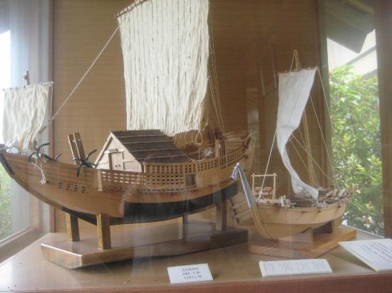 Kanazawa Port Ono Karakuri Museum : Ship model
