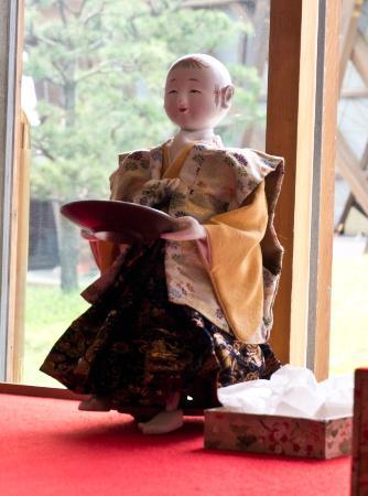 Kanazawa Port Ono Karakuri Museum : Tea serving 'robot'