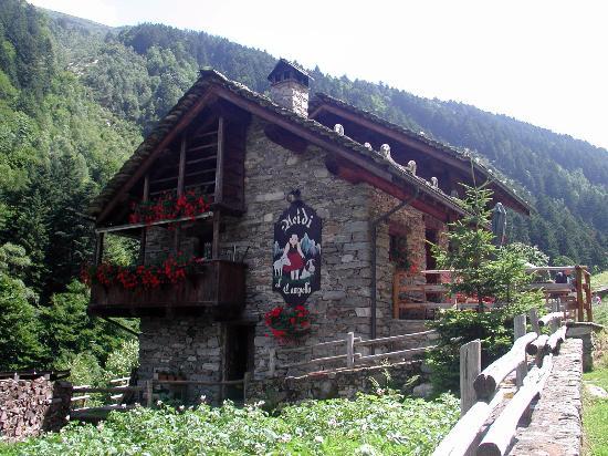 Rassa, إيطاليا: Facciata del ristorante