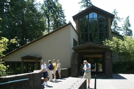 Visitor Center Exterior Picture Of Mount St Helens Visitor Center