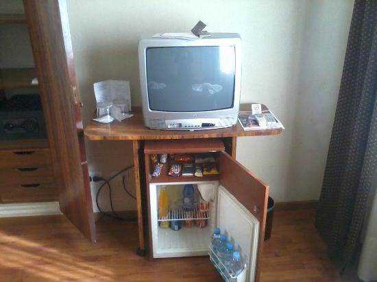 Viasui Hotel: TV y frigobar