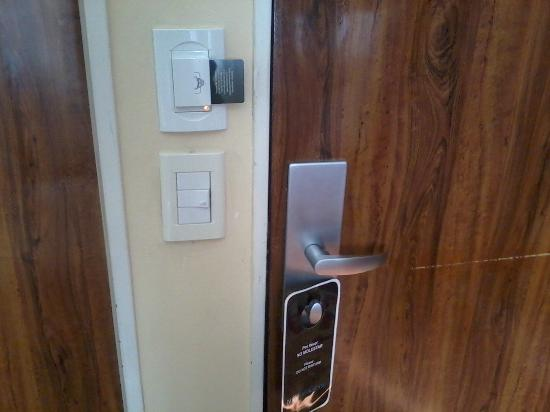 Viasui Hotel: Llave magnética