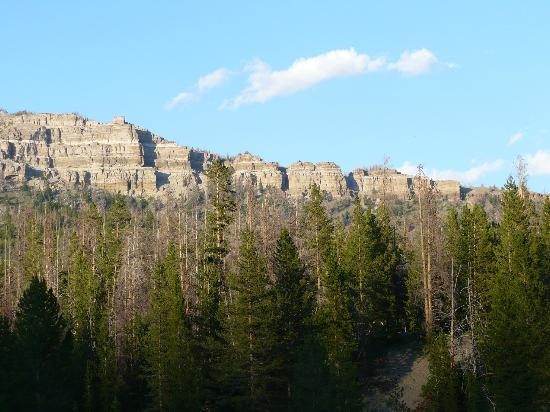 Dubois, WY : View off our front porch