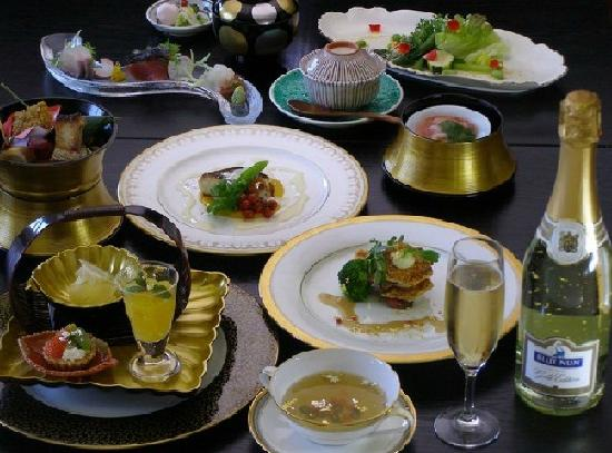 Grand Sanpia Hachinohe: 料理例 グランドサンピア 八戸