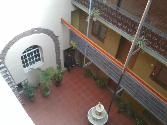 Hotel Parada: Patio interno