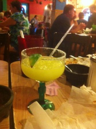 San Juan: hard hitting Ritas