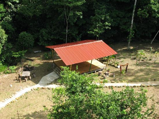 Inti Resort and Villas: yoga deck