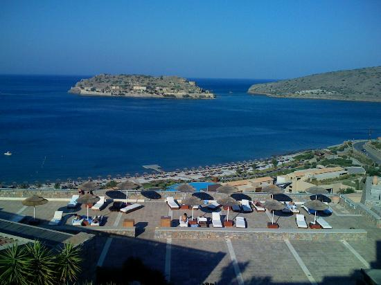Blue Palace, a Luxury Collection Resort & Spa, Crete: A view of Spinalonga Island from the hotel
