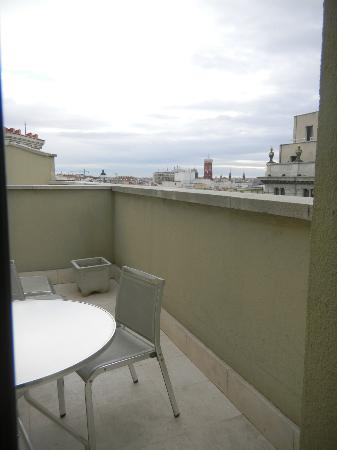 Quatro Puerta del Sol Hotel: Vista de la teraça