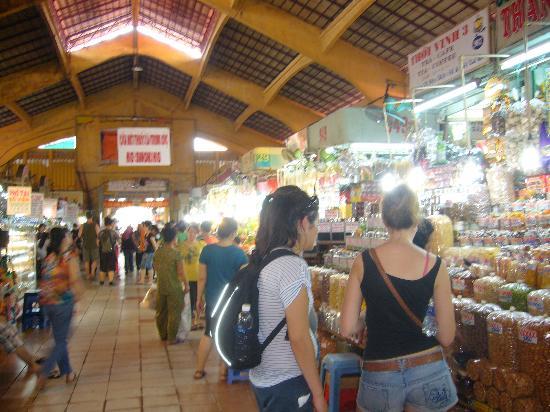 Ben Thanh Market: 見学のメッカ?