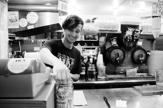 Dominick's: Cheerful staff