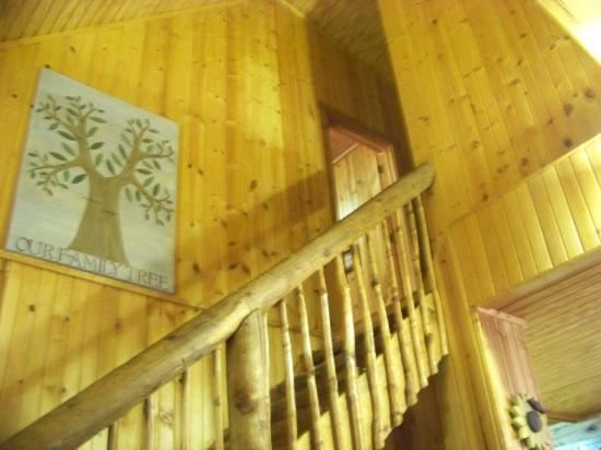Chalets in Hocking Hills: Upstairs