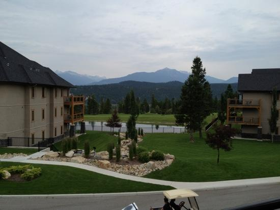 Bighorn Meadows Resort: view from deck of unit we bought
