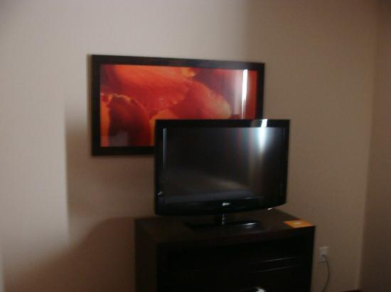 HYATT house Dallas/Addison: Another tv! There were 3 total, yay!