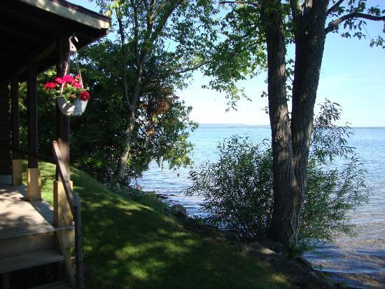 Timberlane Rustic Lodges: View of Lake Manitou
