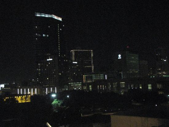 Sheraton Fort Worth Downtown Hotel: pretty night view from my window