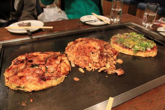 Kiji Umeda Sky Bldg. : konomiyaki