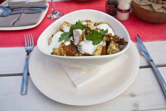 Flava Cafe & restaurant: Moroccan Chicken