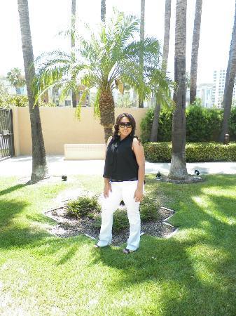 Courtyard Irvine John Wayne Airport/Orange County: Hotel grounds
