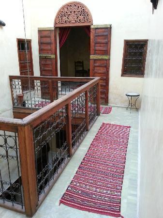 Dar Othmane: Patio (viewed from the 3rd floor)