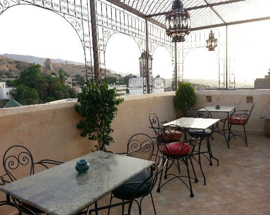 Dar Othmane: Corner of balcony