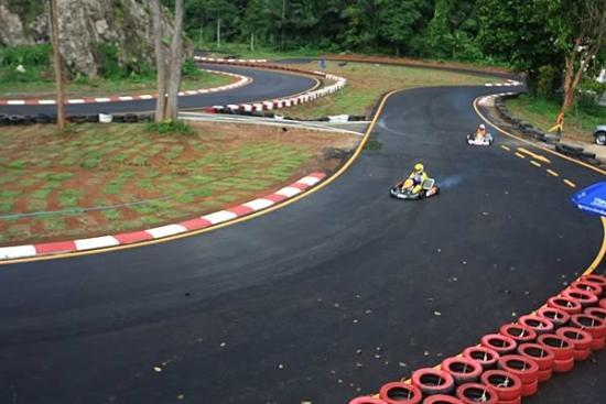 Average Go Karting, expensive but OK - Review of Krabi Kart