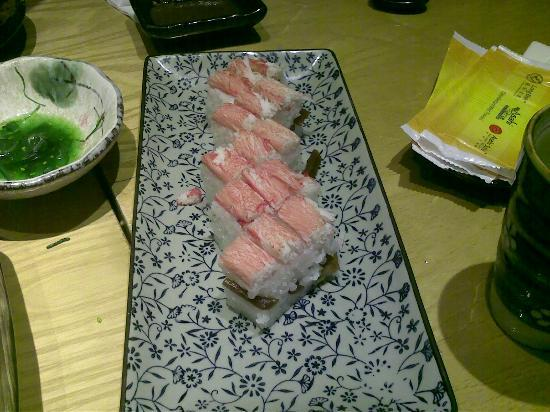 Miwa: house special sushi