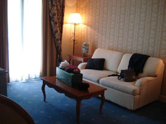 Hotel La Barcarolle : living room