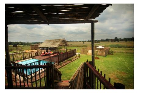 MoAfrika Backpackers: hotel view