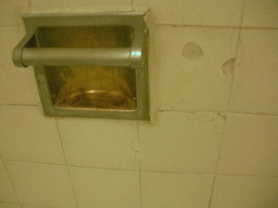 Rodeway Inn: scary shower